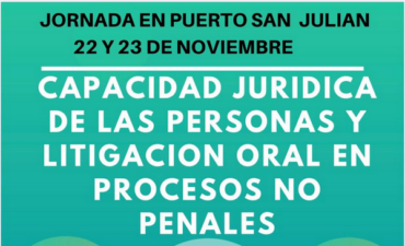 Capacidad Jurídica de las personas y litigación oral en procesos no penales