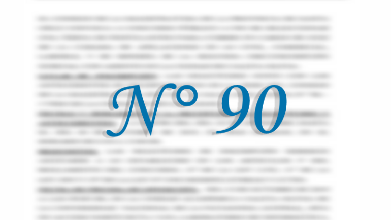 Concurso N° 90