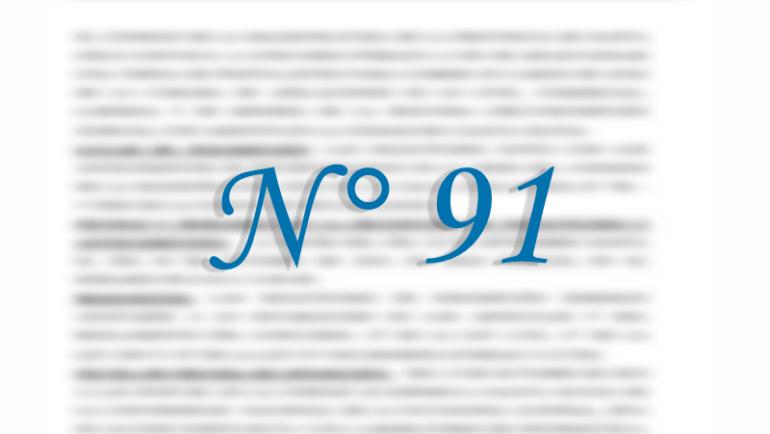 Concurso N° 91