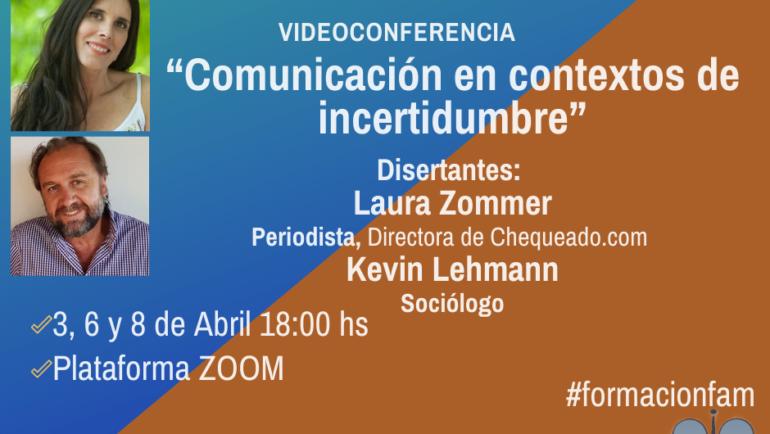 Ciclo de Coloquios Videoconferencias Plataforma Zoom