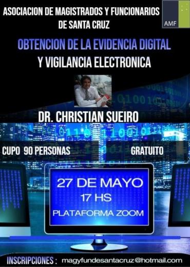 Jornadas Virtuales – Obtención de la Evidencia Digital y Vigilancia Electrónica