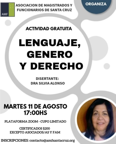 Lenguaje, Género y Derecho