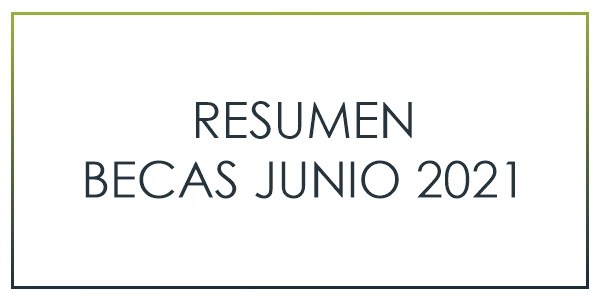 RESUMEN BECAS JUNIO 2021