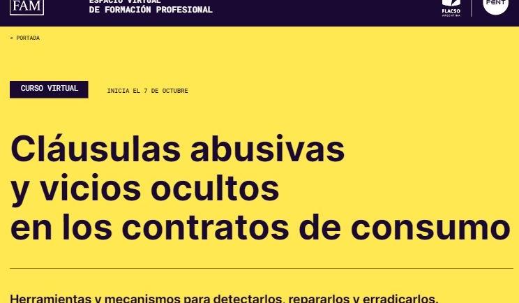 """✔️ """"Cláusulas abusivas y vicios ocultos en los contratos de consumo"""""""